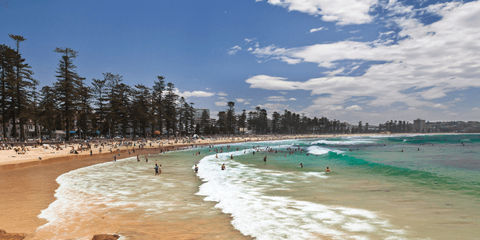 Manly Beach in Sydney